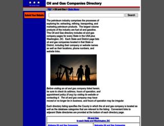 oil-and-gas.regionaldirectory.us screenshot