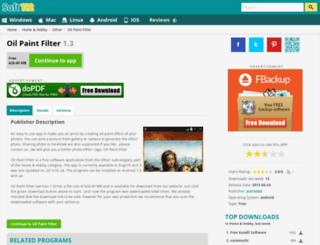 oil-paint-filter.soft112.com screenshot