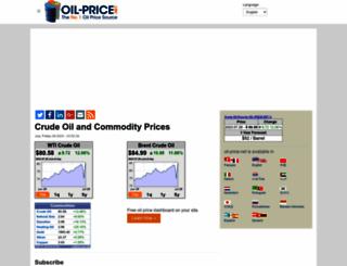 oil-price.net screenshot