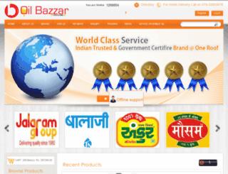 oilbazzar.com screenshot