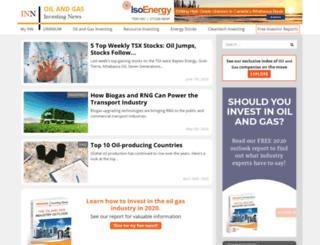 oilinvestingnews.com screenshot