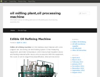 oilmillingplant.blog.com screenshot