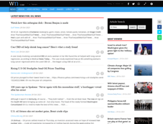 oilnews.com screenshot