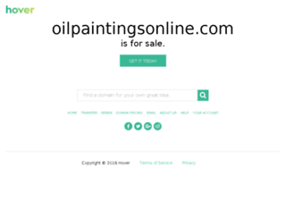 oilpaintingsonline.com screenshot
