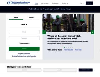 oilprofessionals.com screenshot