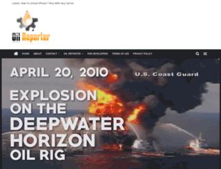 oilreporter.org screenshot
