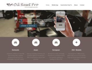 oilresetpro.com screenshot
