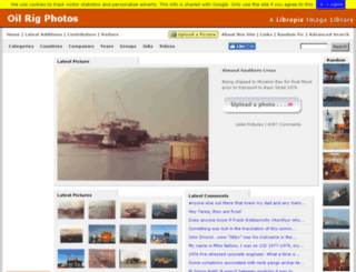 oilrig-photos.com screenshot