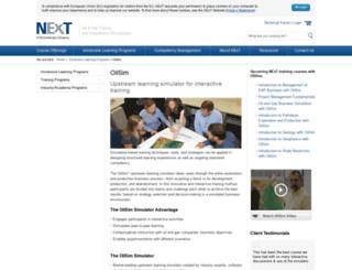 oilsim.com screenshot