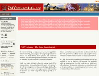 oilventures101.org screenshot