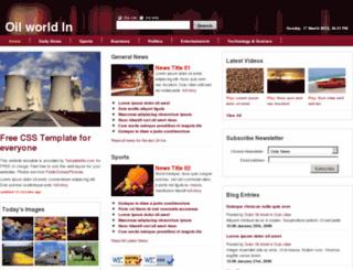 oilworldin.com screenshot