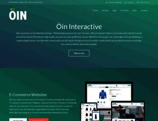 oininteractive.com screenshot