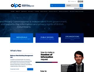 oipc.bc.ca screenshot