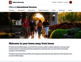 ois.indiana.edu screenshot
