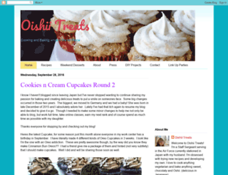 oishiitreats.blogspot.com screenshot