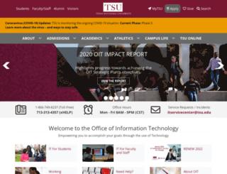 oit.tsu.edu screenshot