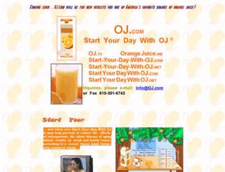 oj.com screenshot