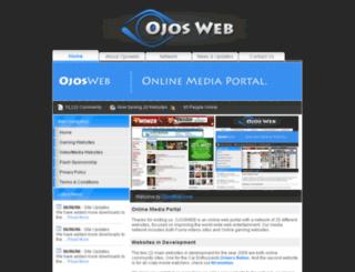 ojosweb.com screenshot