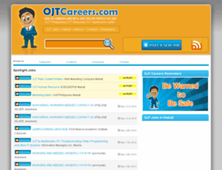 ojtcareers.com screenshot