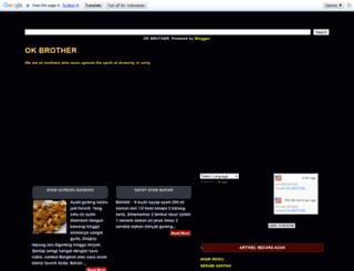 ok-bro.blogspot.com screenshot