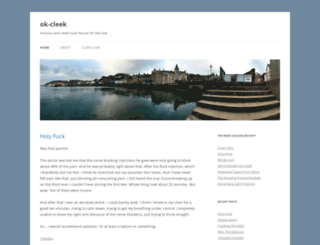 ok-cleek.com screenshot