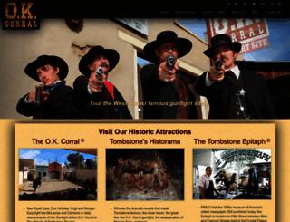 ok-corral.com screenshot