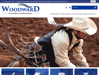 ok-woodwardcvb.civicplus.com screenshot