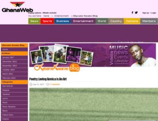 ok.ghanaweb.com screenshot