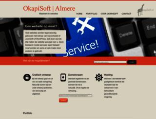 okapisoft.nl screenshot