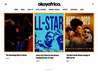 okayafrica.com screenshot