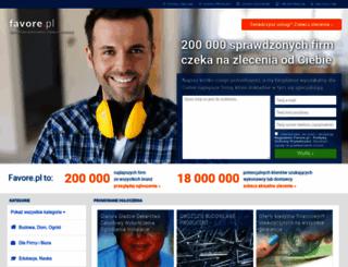 okazje.favore.pl screenshot