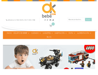 okbebe.com screenshot