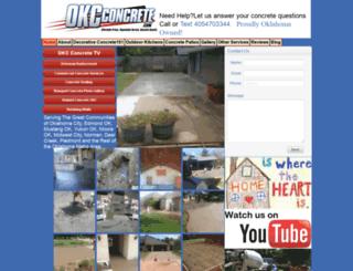 okcconcrete.homestead.com screenshot