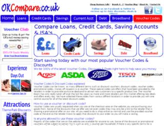 okcompare.co.uk screenshot