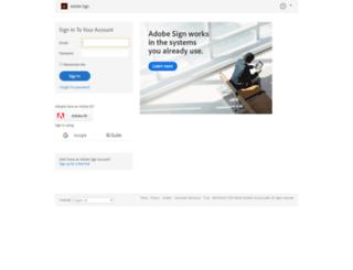 okcpsit.echosign.com screenshot