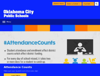 okcs.schooldesk.net screenshot