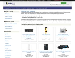 okdigital.addel.hu screenshot
