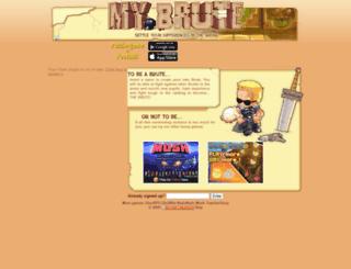 oke_kyu-kenn.mybrute.com screenshot