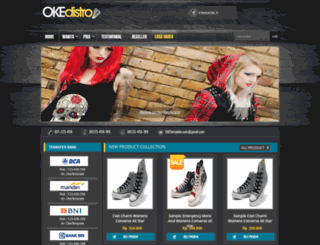 okedistro.oketemplate.com screenshot
