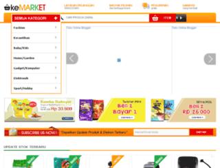 okemarket.oketemplate.com screenshot