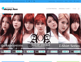 okepopstore.com screenshot