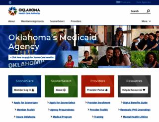 okhca.org screenshot