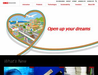 oki.com screenshot
