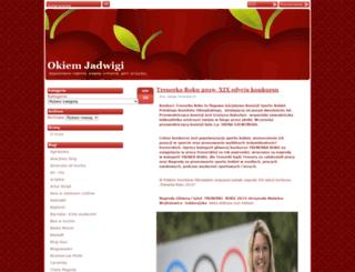 okiemjadwigi.pl screenshot