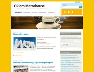 okiemmetrohouse.wordpress.com screenshot