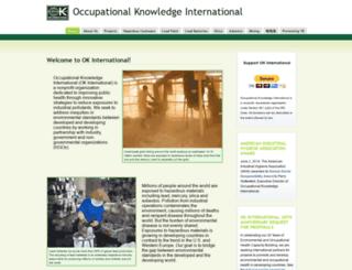 okinternational.org screenshot