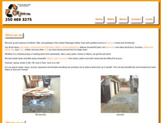 okjunk.com screenshot