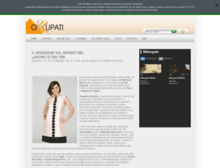 okkupati.rai.it screenshot