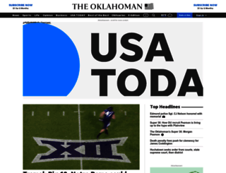oklahoman.com screenshot