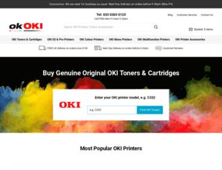 okoki.co.uk screenshot